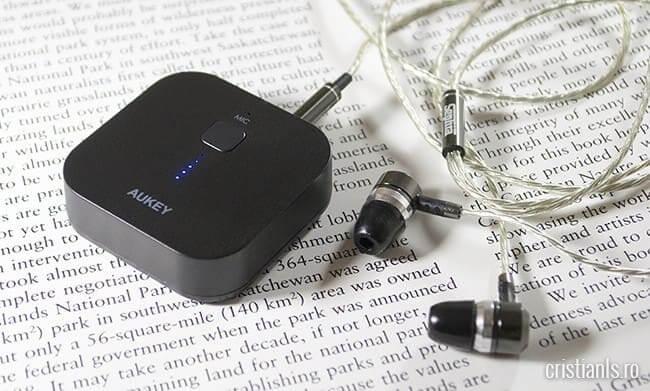 Receptor audio bluetooth portabil - AUKEY BR-C1