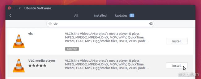 instalare software ubuntu