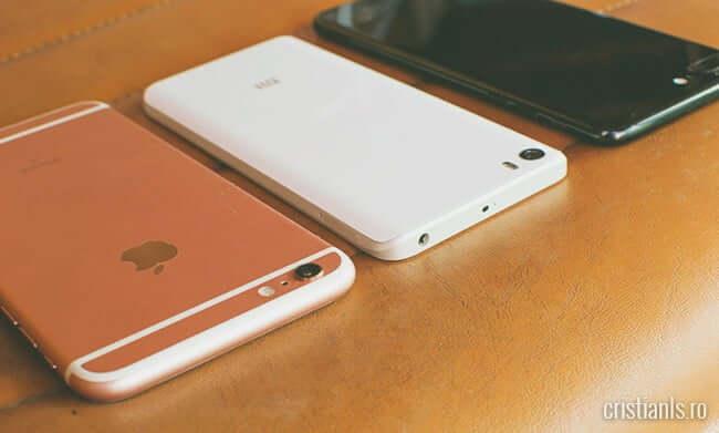 Mi 5 vs. iPhone