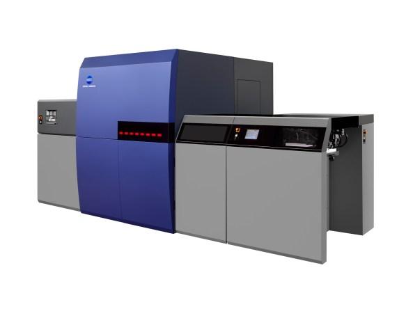 Konica Minolta- echipament tipar digital inkjet KM-1