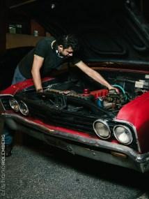 Motor do Mallibu restaurado.