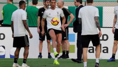 Ronaldo Showcases His Latest Skills In Juve Training