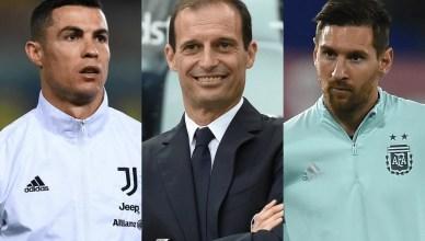 Cristiano Ronaldo or Lionel Messi? Allegri Gives A Cryptic Answer