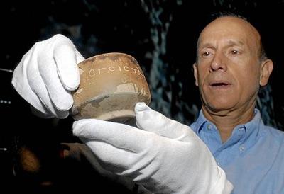 Descubren una vasija que podría ser la primera referencia del Mesías