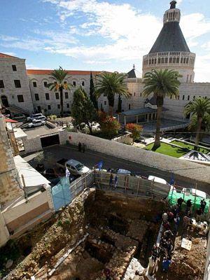 Descubren la primera casa en Nazaret de la época de Jesús