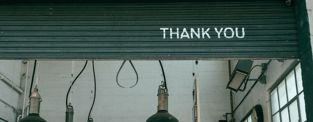 Oración de agradecimiento