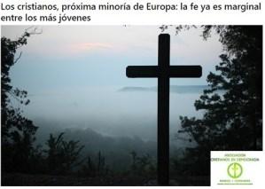 Cristianos nueva minoría Europa