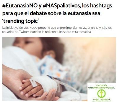 El debate de la Eutanasia que el Gobierno de España no desea celebrar