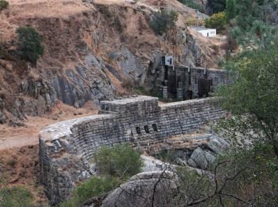 Original Folsom Dam, built in 1893