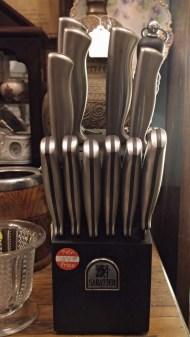 Sabatier knife set