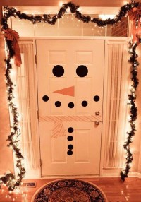 Diy Christmas Door Decorations