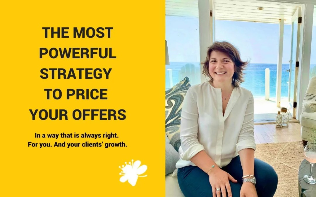 The Most Powerful Strategy To Price Your Offers