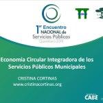 Primer Encuentro Nacional de Servicios Públicos Municipales