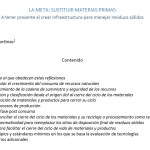 LA META- SUSTITUIR MATERIAS PRIMAS