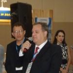Diretor de marketing do ministério do Turismo, Walter Vasconcelos representando o ministro do turismo, Henrique Alves
