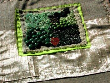 Fragmenti, Verde, 1, dettaglio