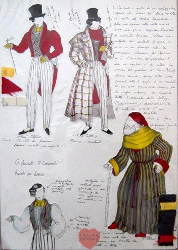 """G. Donizetti, """"Il campanello"""": Enrico"""
