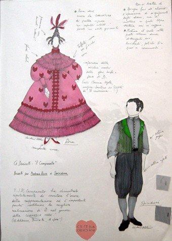 """G. Donizetti, """"Il campanello"""": Mamma Rosa e Spiridione"""