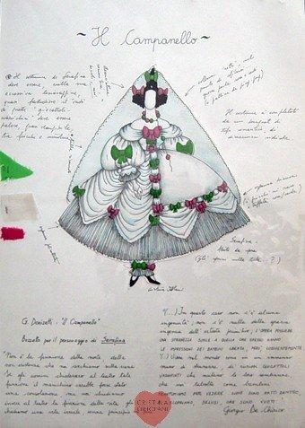 """G. Donizetti, """"Il campanello"""": Serafina"""