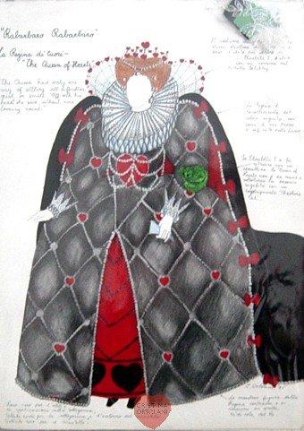 Rabarbaro rabarbaro, la regina di cuori