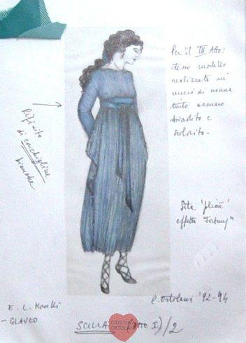 """E. L. Morselli, """"Glauco"""": Scilla"""