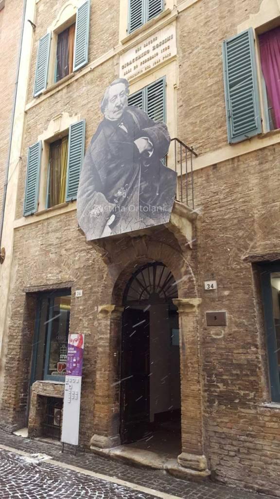 Pesaro Febbraio 2018 - la casa natale di G. Rossini