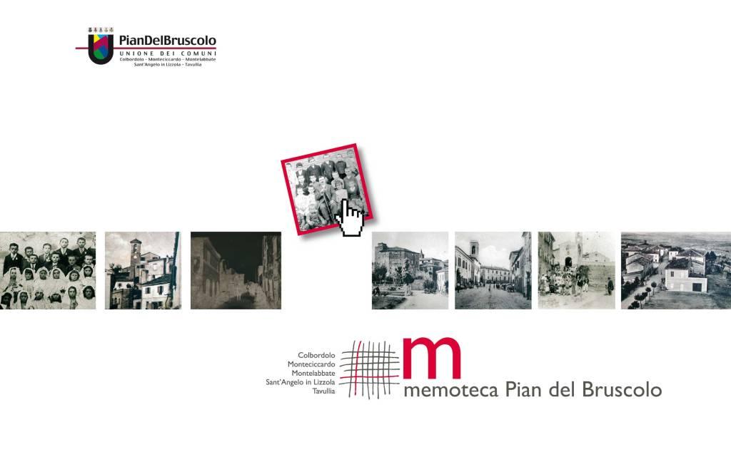 Memoteca Pian del Bruscolo - copertina brochure