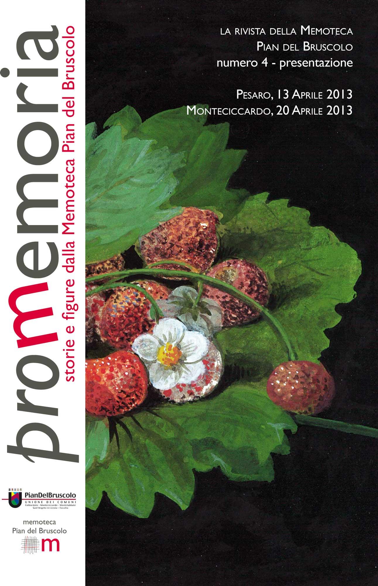 Memoteca Pian del Bruscolo - 2013