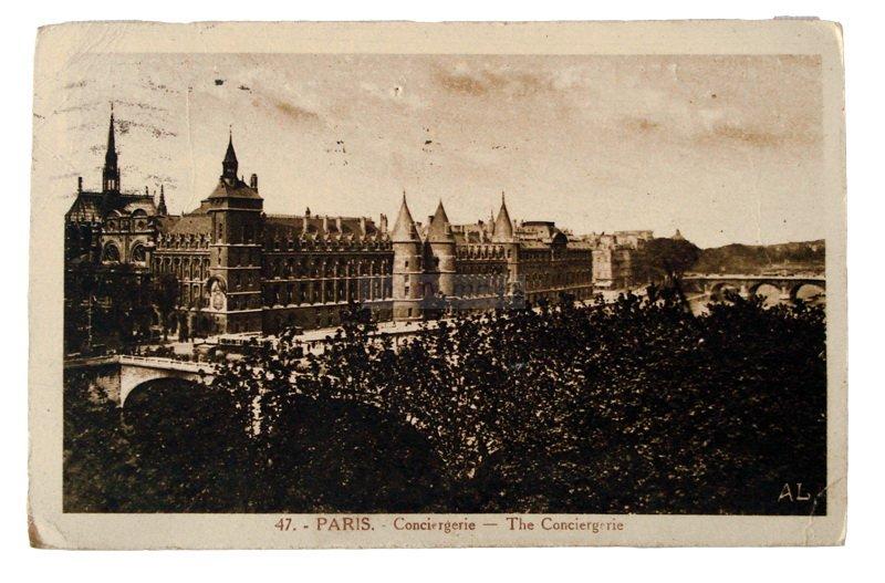 Parigi, 1931. Cartoline inviata da Prima Paganelli a Emilia Barbanti Badioli