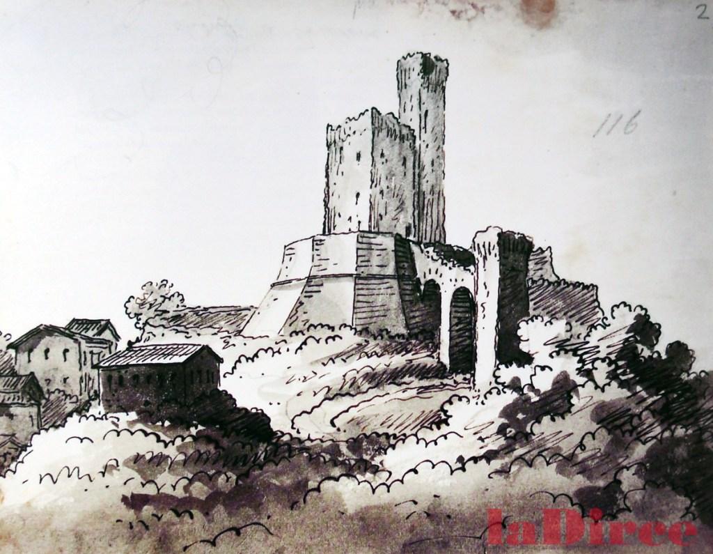 Romolo Liverani, la rocca di Montelevecchie