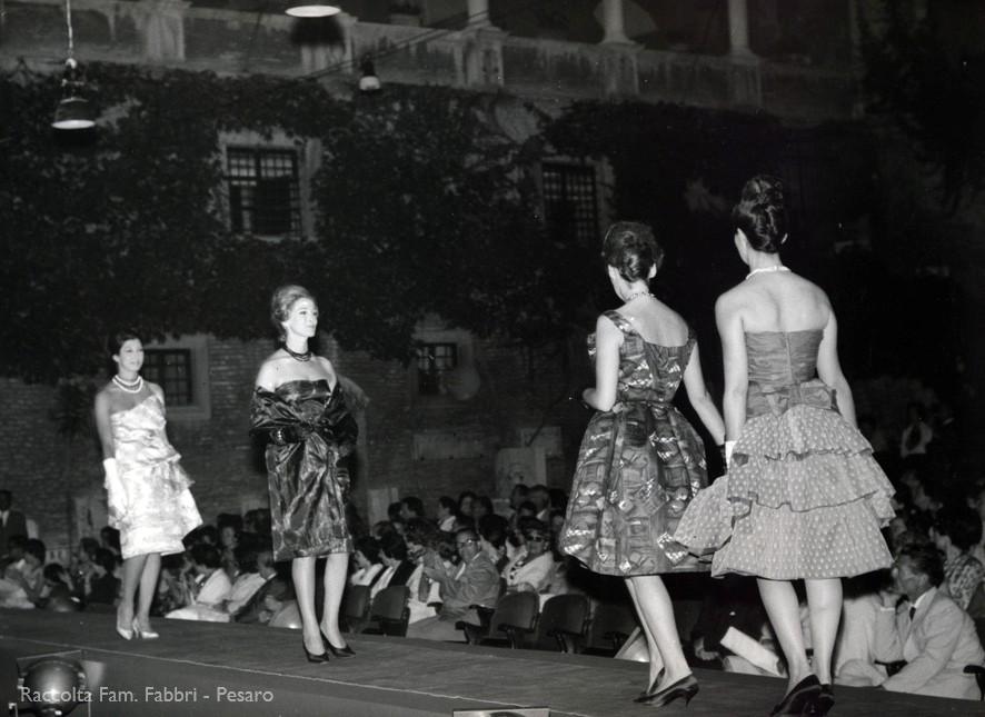 Fano, 17 luglio 1960 - Abiti di Domenica Fabbri