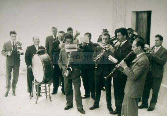 Ginestreto, la Banda nel 1960 circa