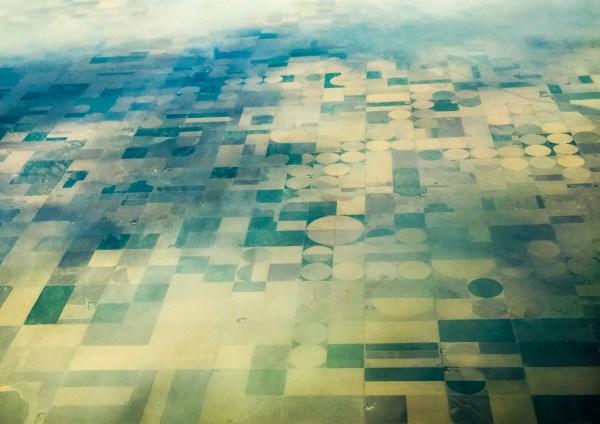 Nebraska from the airplane
