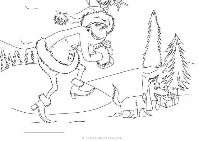 The Grinch coloring pages – Drawings sheets with Grinch