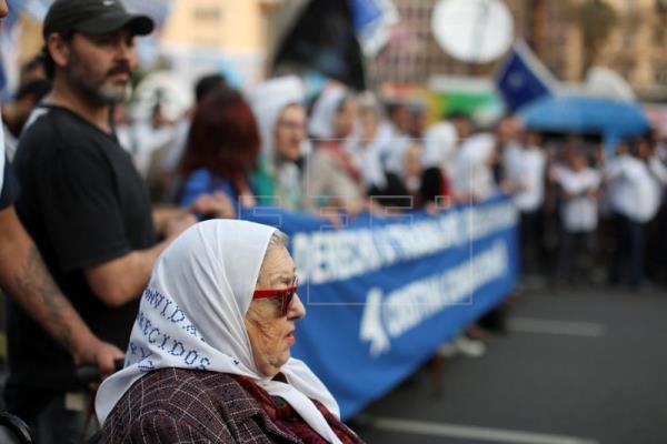 """imagen 1s - Argentina reactiva su """"Marcha de la Resistencia"""" contra las políticas de Macri"""