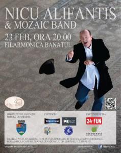 afil Nicu Alifantis si MOZAIC band Timisoara