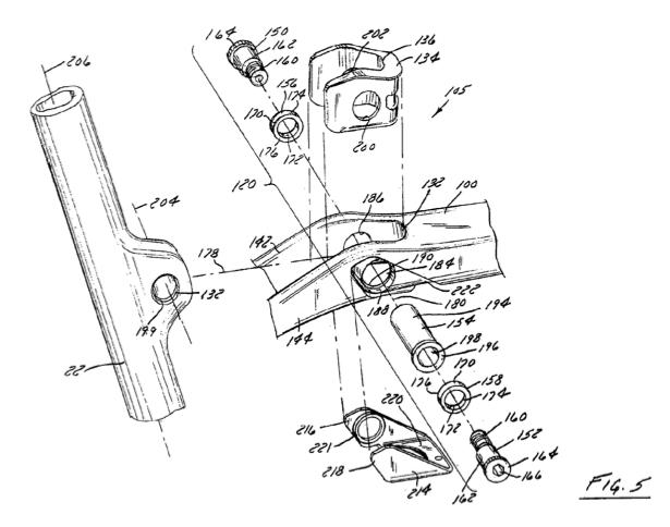 Trek Patents IsoSpeed Tech
