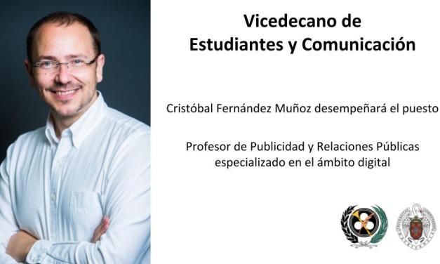 Vicedecano de Estudiantes y Comunicación