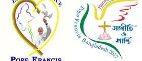 logos del viaje que el Papa Francisco realizará a Myanmar y Bangladesh