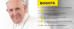 Bogotá Colombia 1er parte de la vista del Papa francisco