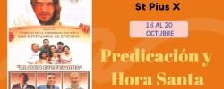 Ambiorix Padilla –  Predicación y Hora Santa –  SEMANA DE FAMILIAS St Pius X – Predica Miercoles 18 Octubre