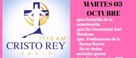Cristo Rey Radio En Vivo Martes 3pm a 7pm