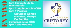 Cristo Rey Radio En Vivo Martes 19 Diciembre 3pm a 7pm