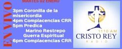Cristo Rey Radio En Vivo Martes 02 Enero 3pm a 7pm