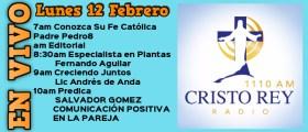 Cristo Rey Radio En Vivo Viernes 09 Febrero 7am a 11am