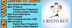 Cristo Rey Radio En Vivo Mart 06 Marzo 1pm a 5pm