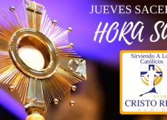 HORA SANTA  2020 /  Parroquia Madre del Salvador.