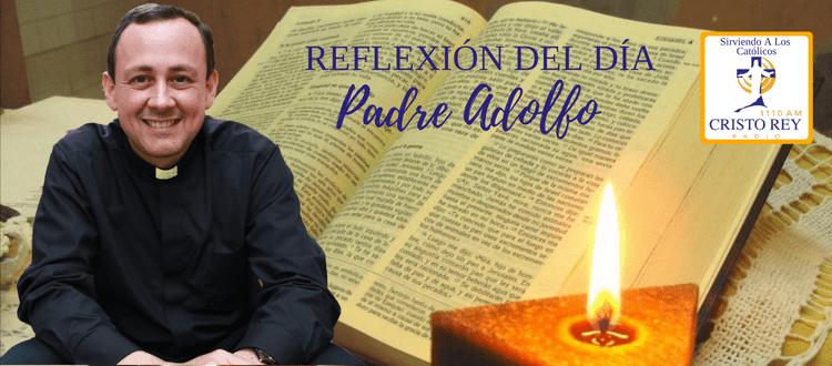 Padre Adolfo - ¿Cómo vivir verdaderamente en paz?