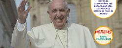 Hoy es el cumpleaños del Papa Francisco, los mejores deseos de todo el mundo