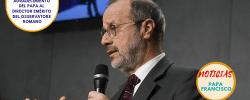 Agradecimiento del Papa al Director emérito del Osservatore Romano